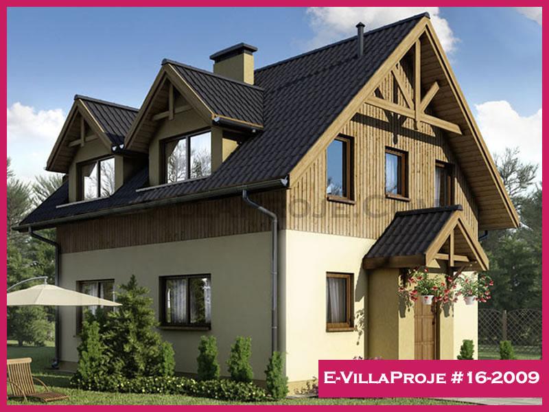 Ev Villa Proje #16-2009, 2 katlı, 4 yatak odalı, 152 m2