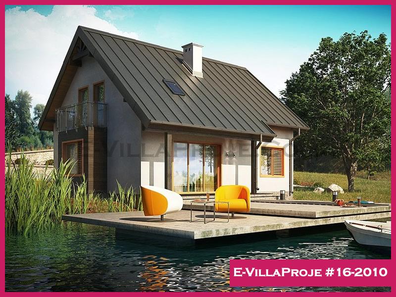 Ev Villa Proje #16-2010, 2 katlı, 3 yatak odalı, 185 m2