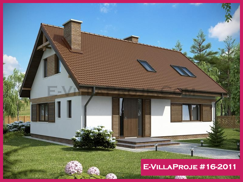 Ev Villa Proje #16-2011, 2 katlı, 3 yatak odalı, 191 m2