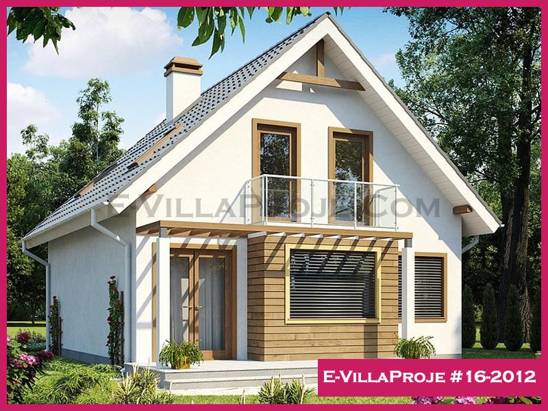 Ev Villa Proje #16-2012, 2 katlı, 3 yatak odalı, 160 m2