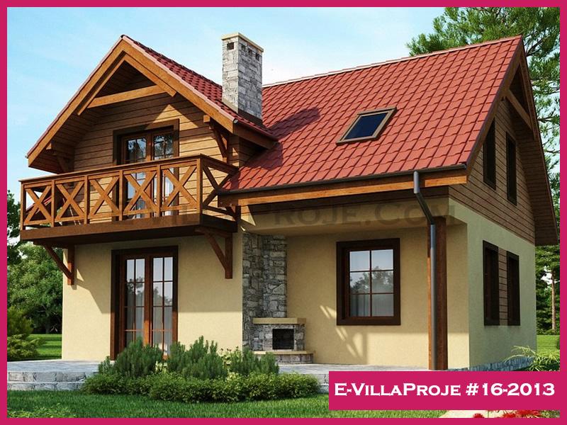 Ev Villa Proje #16-2013, 2 katlı, 3 yatak odalı, 146 m2