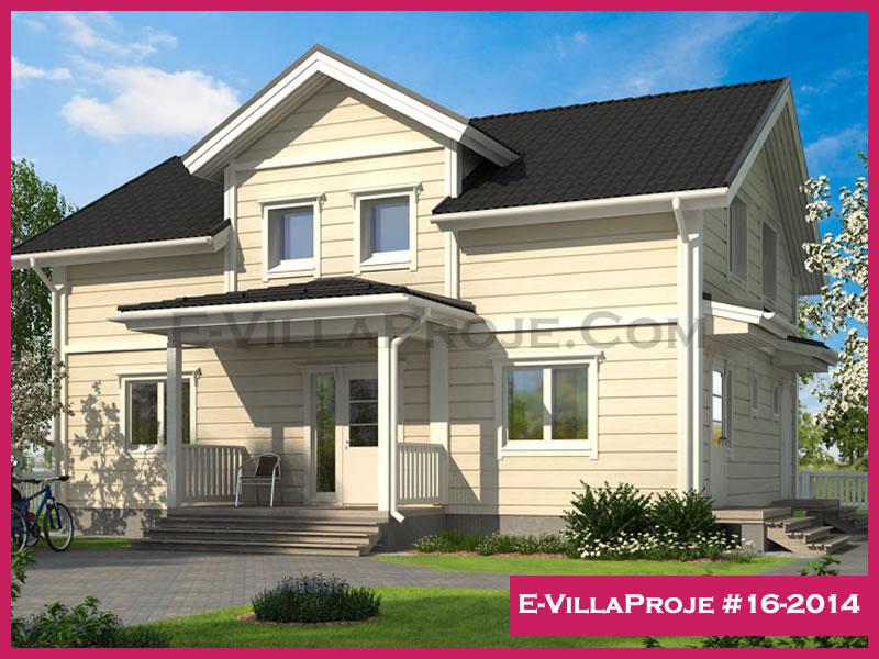 Ev Villa Proje #16-2014, 2 katlı, 4 yatak odalı, 194 m2