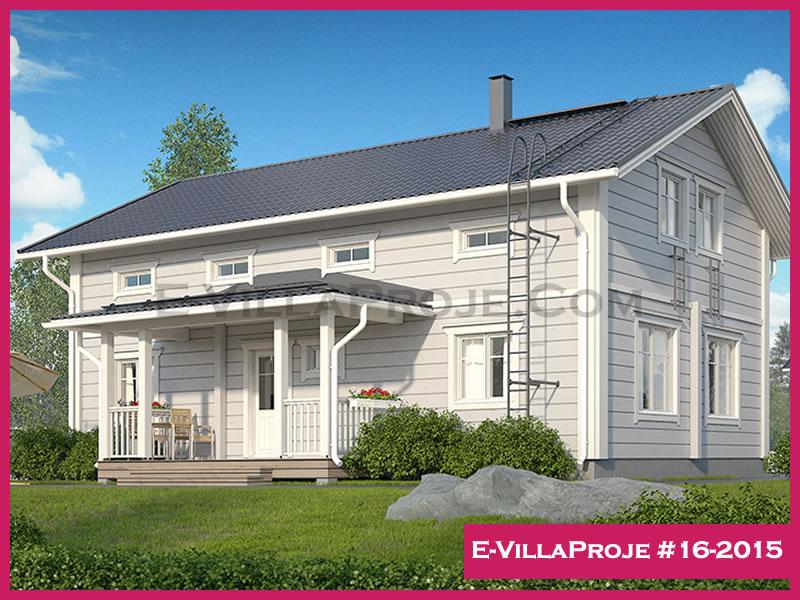 Ev Villa Proje #16-2015, 2 katlı, 5 yatak odalı, 172 m2