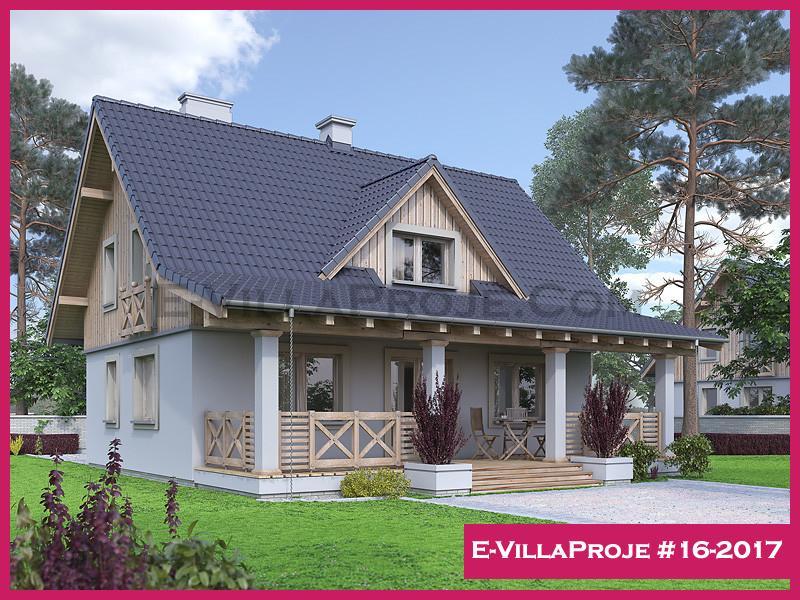 Ev Villa Proje #16-2017, 1 katlı, 3 yatak odalı, 176 m2