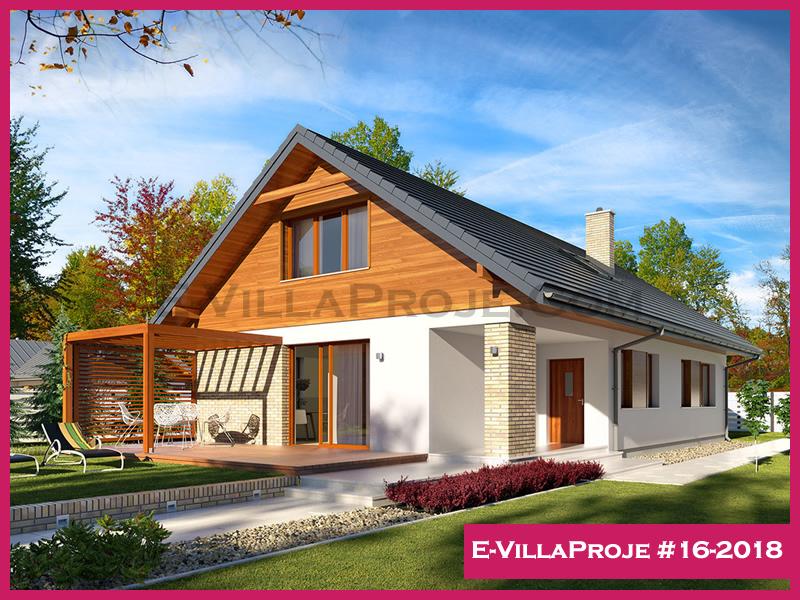 Ev Villa Proje #16-2018, 2 katlı, 5 yatak odalı, 300 m2