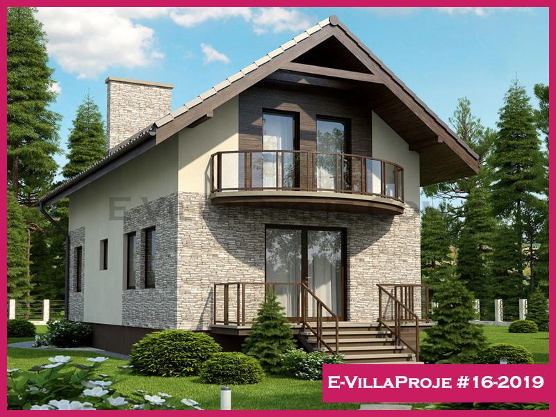 Ev Villa Proje #16-2019, 2 katlı, 3 yatak odalı, 148 m2