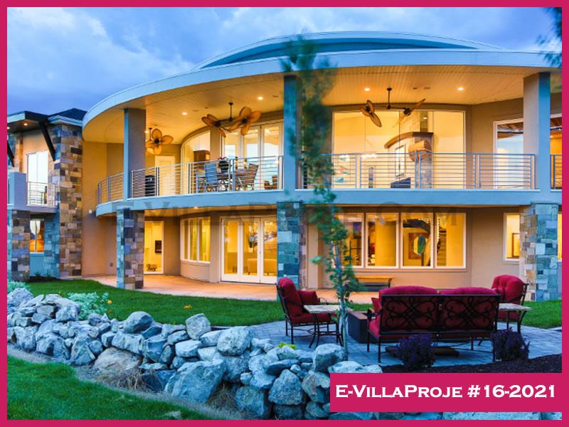 E-VillaProje #16-2021, 2 katlı, 5 yatak odalı, 515 m2