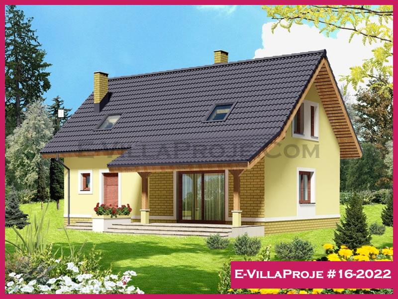 E-VillaProje #16-2022, 2 katlı, 4 yatak odalı, 179 m2