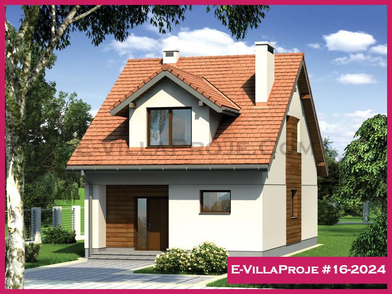 E-VillaProje #16-2024, 2 katlı, 3 yatak odalı, 167 m2