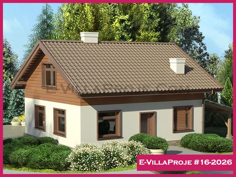 E-VillaProje #16-2026, 2 katlı, 3 yatak odalı, 143 m2