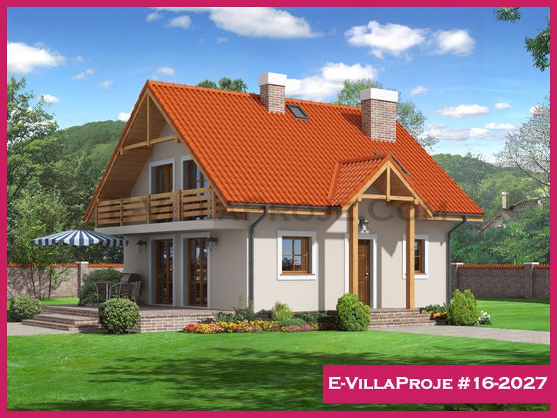 E-VillaProje #16-2027, 2 katlı, 4 yatak odalı, 150 m2