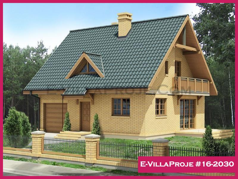E-VillaProje #16-2030, 2 katlı, 3 yatak odalı, 163 m2