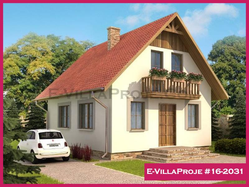 E-VillaProje #16-2031, 2 katlı, 3 yatak odalı, 122 m2