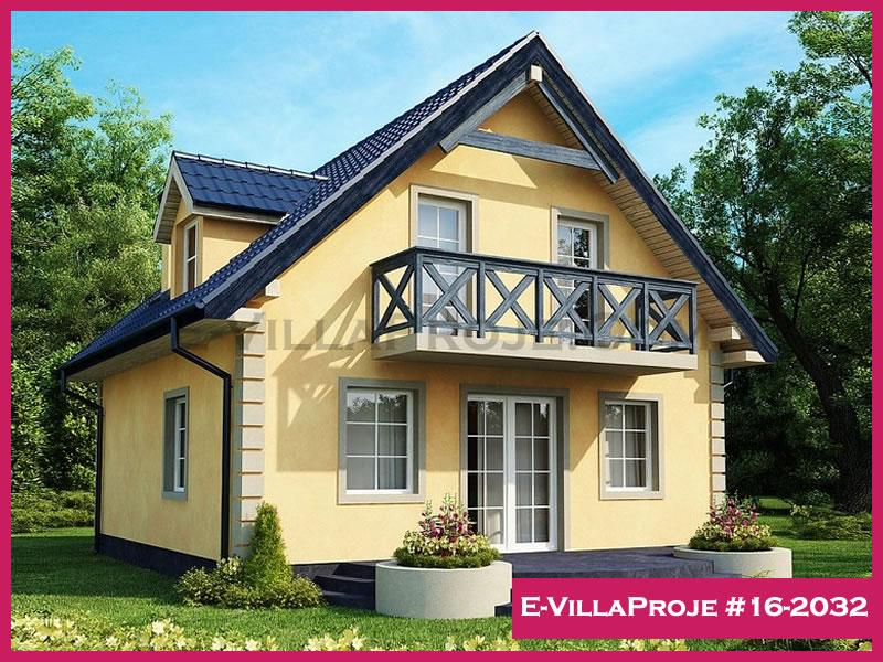 E-VillaProje #16-2032, 2 katlı, 3 yatak odalı, 144 m2