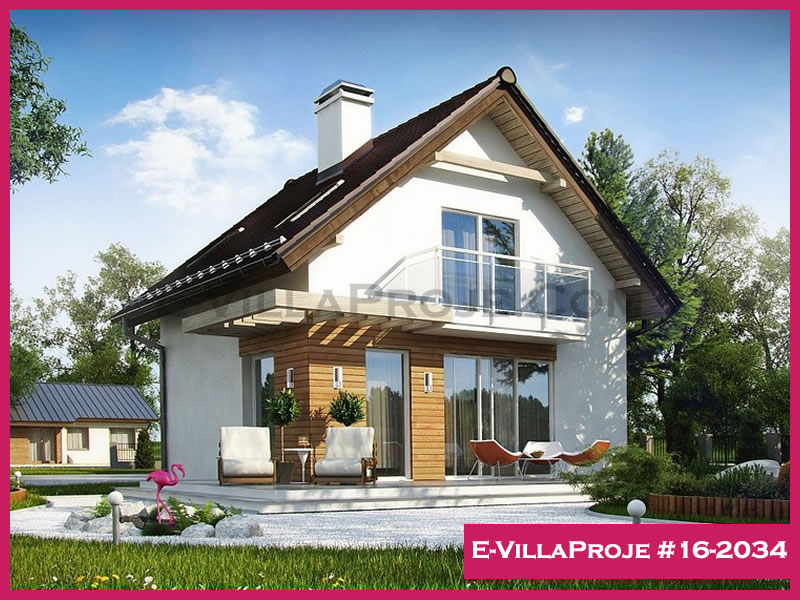 E-VillaProje #16-2034, 2 katlı, 2 yatak odalı, 111 m2