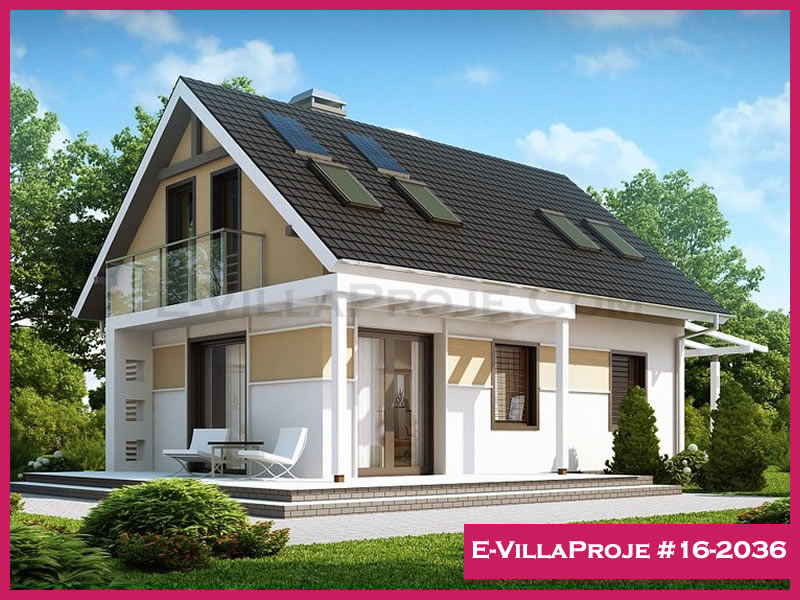 E-VillaProje #16-2036, 2 katlı, 3 yatak odalı, 136 m2