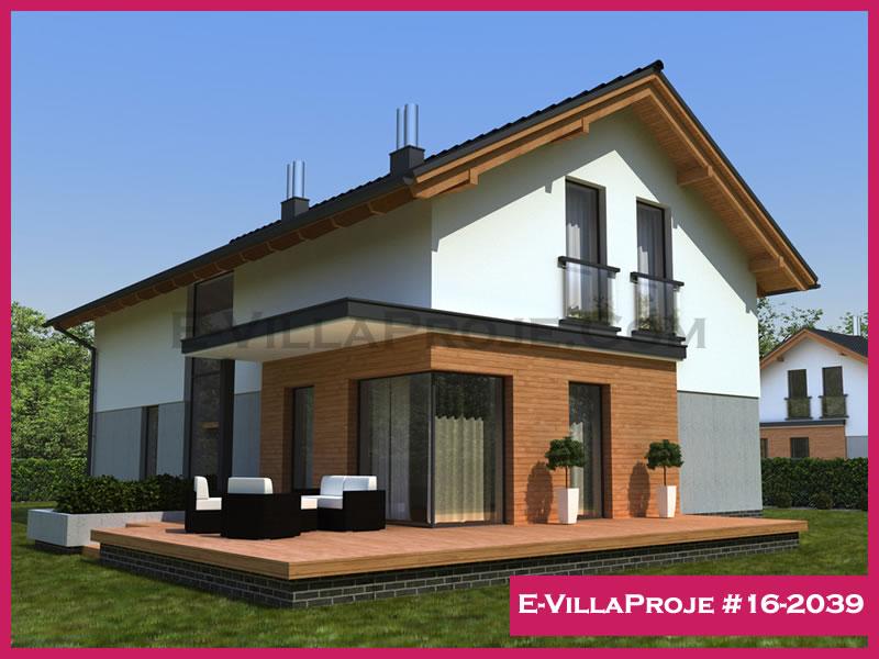 Ev Villa Proje #16 – 2039, 2 katlı, 4 yatak odalı, 224 m2