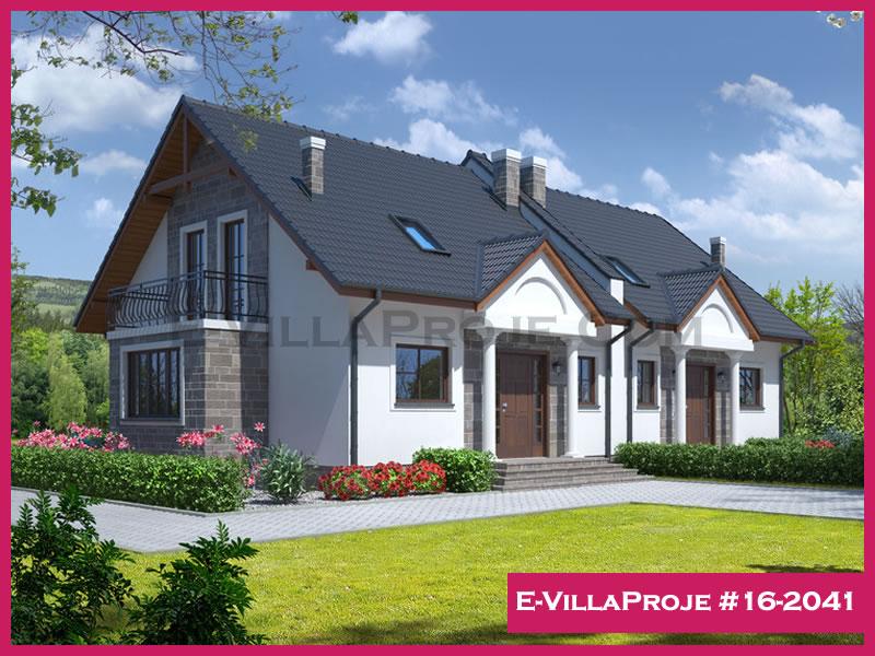 Ev Villa Proje #16 – 2041, 2 katlı, 3 yatak odalı, 163 m2