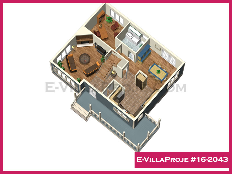 Ev Villa Proje #16 – 2043