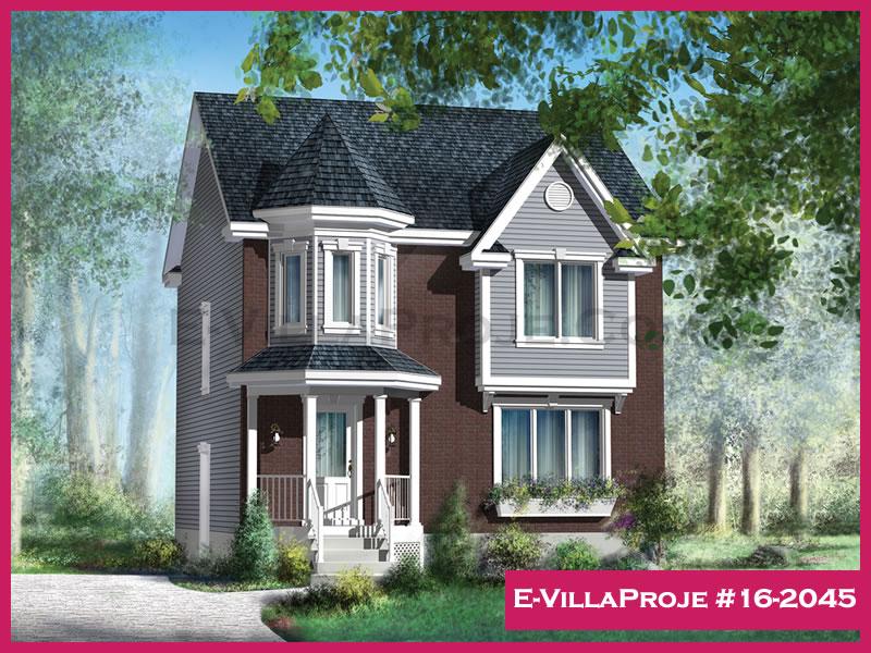Ev Villa Proje #16 – 2045, 2 katlı, 3 yatak odalı, 134 m2