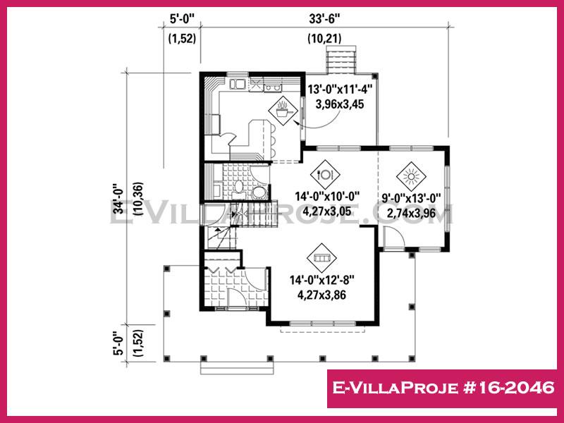 Ev Villa Proje #16 – 2046
