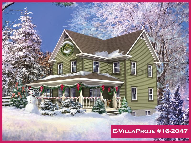 Ev Villa Proje #16 – 2047, 2 katlı, 3 yatak odalı, 162 m2