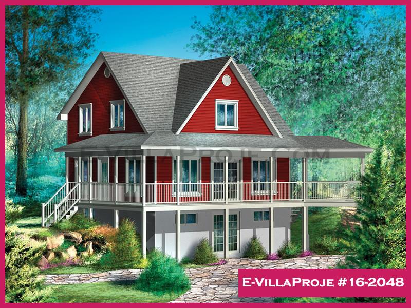 Ev Villa Proje #16 – 2048, 2 katlı, 3 yatak odalı, 142 m2