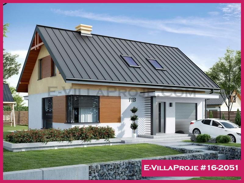 Ev Villa Proje #16 – 2051, 2 katlı, 3 yatak odalı, 170 m2