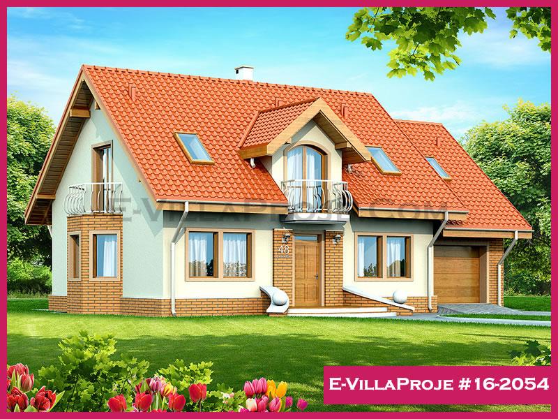 Ev Villa Proje #16 – 2054, 2 katlı, 4 yatak odalı, 255 m2