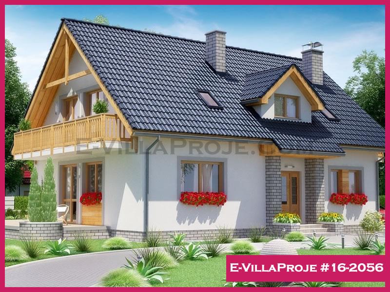 Ev Villa Proje #16 – 2056, 2 katlı, 5 yatak odalı, 247 m2