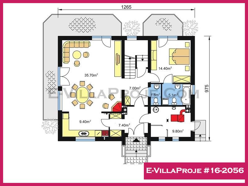 Ev Villa Proje #16 – 2056