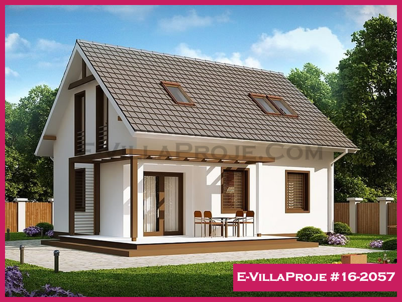 Ev Villa Proje #16 – 2057, 2 katlı, 4 yatak odalı, 124 m2