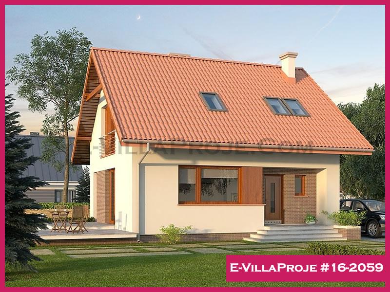 Ev Villa Proje #16 – 2059, 2 katlı, 3 yatak odalı, 143 m2