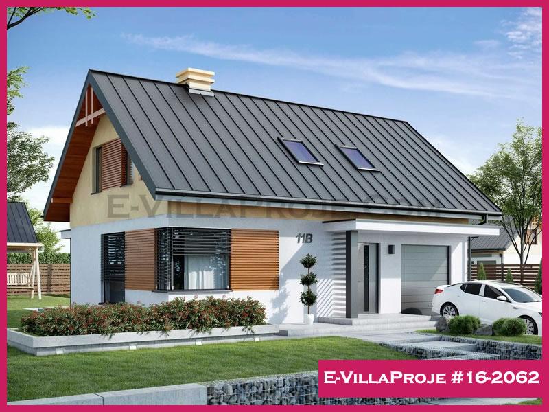 Ev Villa Proje #16 – 2062, 2 katlı, 3 yatak odalı, 171 m2