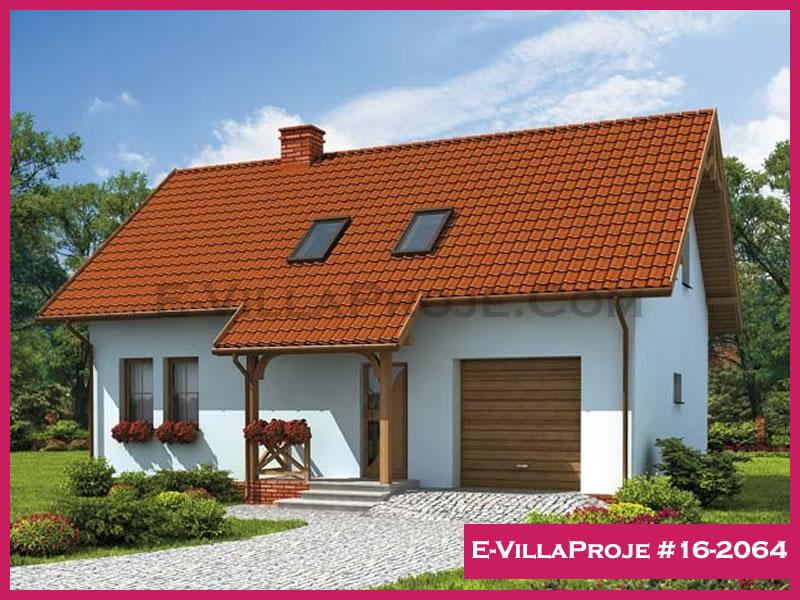 Ev Villa Proje #16 – 2064, 2 katlı, 3 yatak odalı, 172 m2