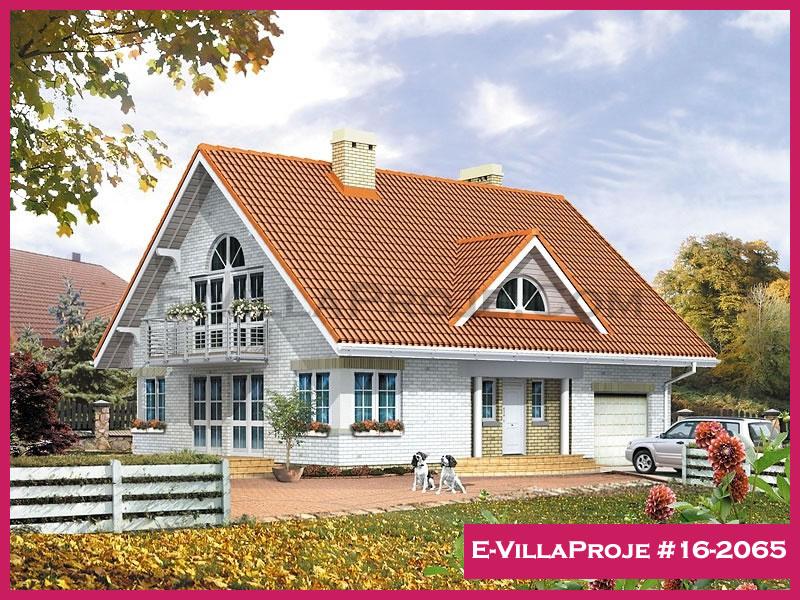 Ev Villa Proje #16 – 2065, 2 katlı, 4 yatak odalı, 241 m2