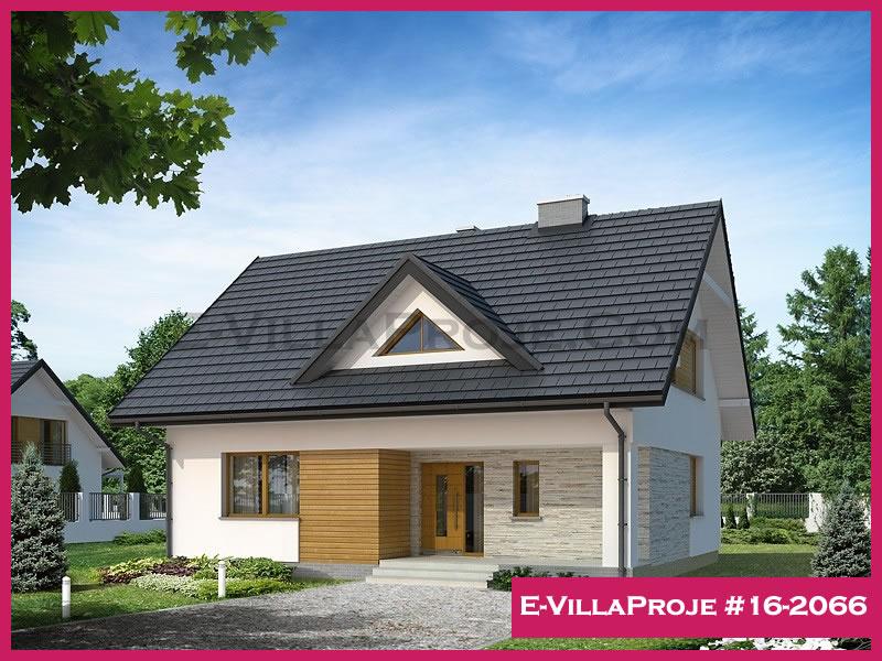 Ev Villa Proje #16 – 2066, 2 katlı, 4 yatak odalı, 218 m2