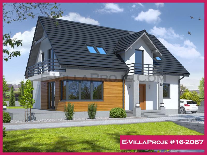 Ev Villa Proje #16 – 2067, 2 katlı, 4 yatak odalı, 212 m2
