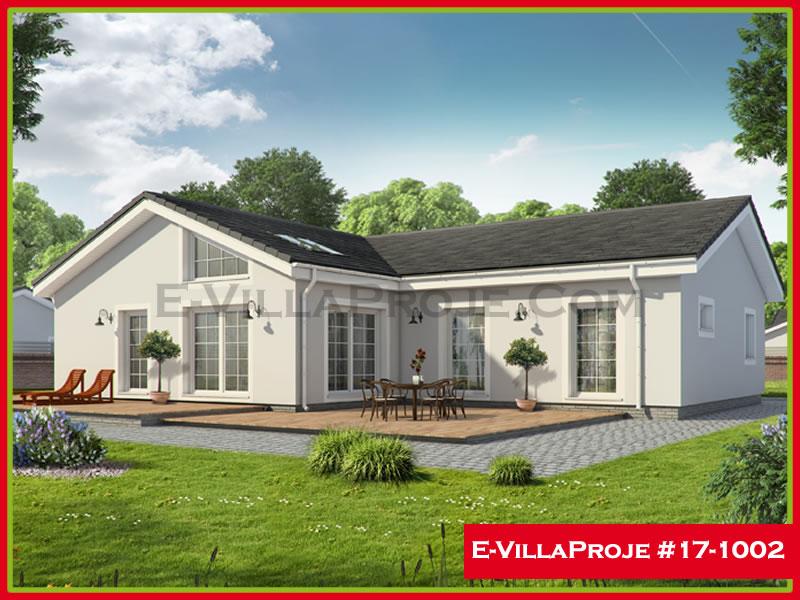 Ev Villa Proje #17 – 1002, 1 katlı, 3 yatak odalı, 149 m2