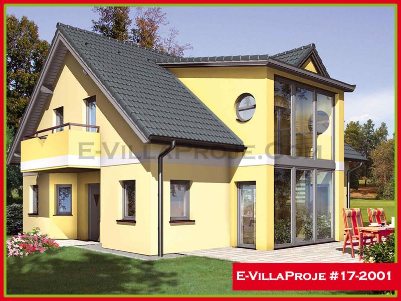 Ev Villa Proje #17 – 2001, 2 katlı, 4 yatak odalı, 185 m2