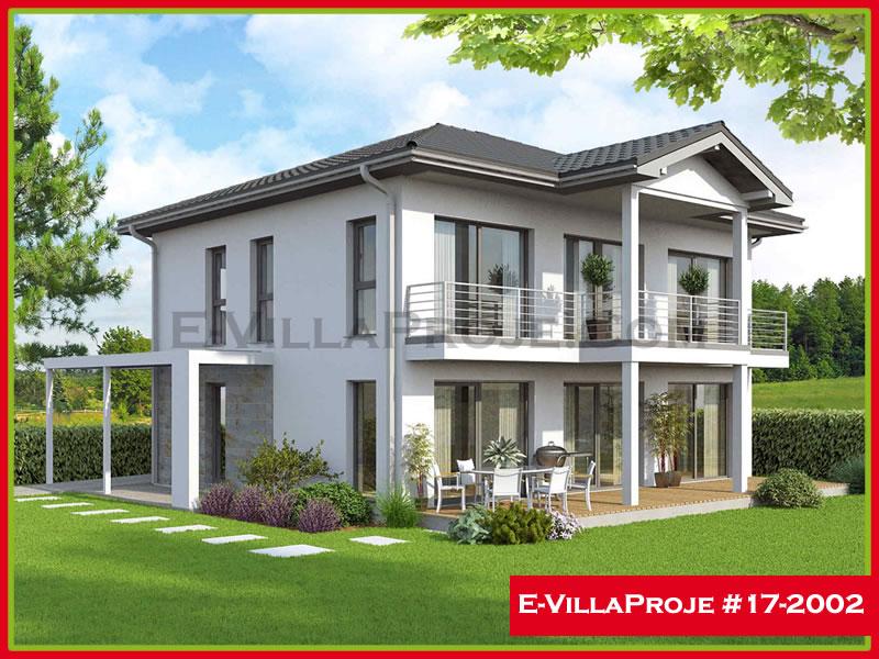 Ev Villa Proje #17 – 2002, 2 katlı, 4 yatak odalı, 209 m2