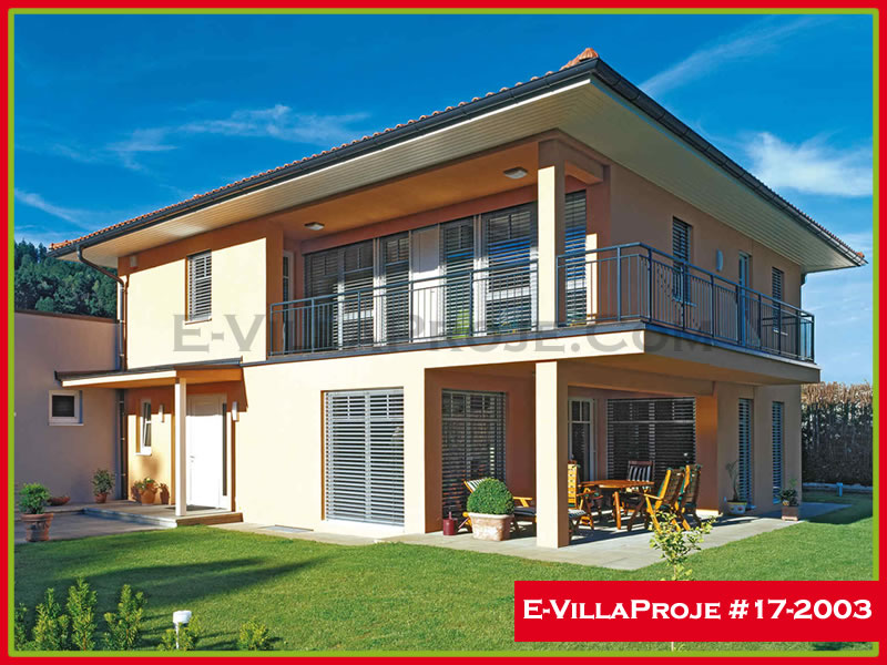 Ev Villa Proje #17 – 2003, 2 katlı, 4 yatak odalı, 203 m2