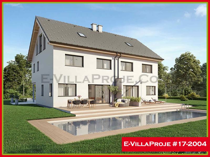 Ev Villa Proje #17 – 2004, 2 katlı, 3 yatak odalı, 147 m2