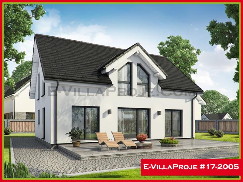 Ev Villa Proje #17 – 2005, 2 katlı, 3 yatak odalı, 188 m2