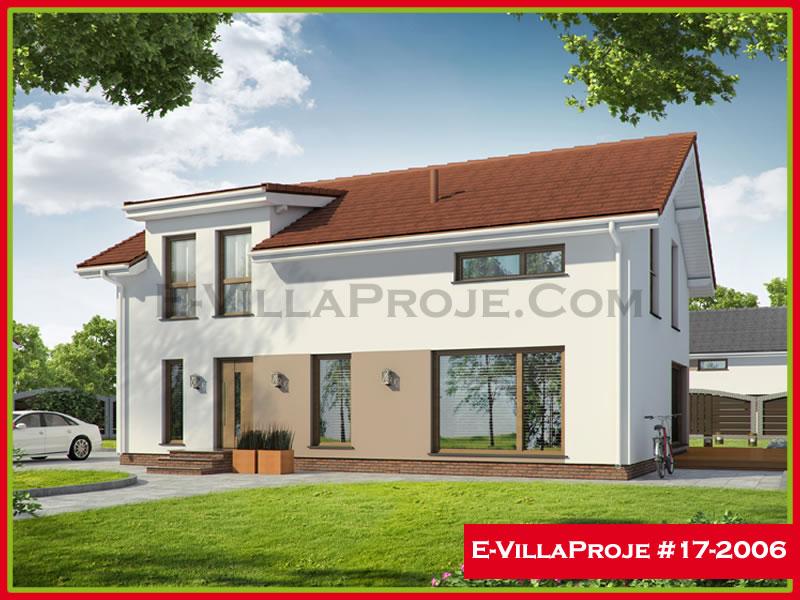 Ev Villa Proje #17 – 2006, 2 katlı, 3 yatak odalı, 202 m2