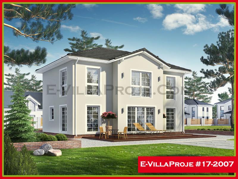 Ev Villa Proje #17 – 2007, 2 katlı, 3 yatak odalı, 177 m2