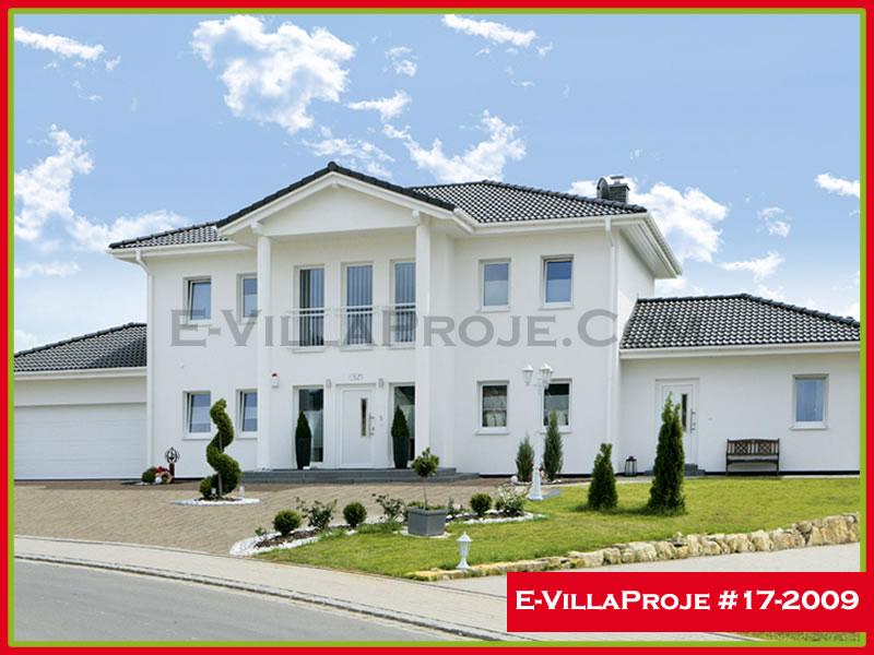 Ev Villa Proje #17 – 2009, 2 katlı, 4 yatak odalı, 258 m2