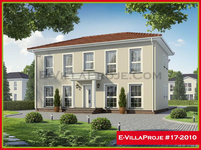 Ev Villa Proje #17 – 2010, 2 katlı, 4 yatak odalı, 228 m2