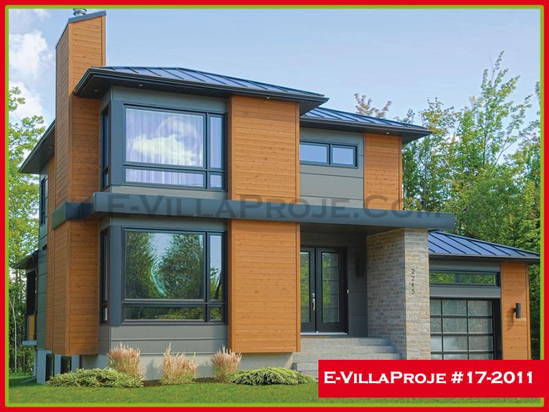 Ev Villa Proje #17 – 2011, 2 katlı, 3 yatak odalı, 159 m2