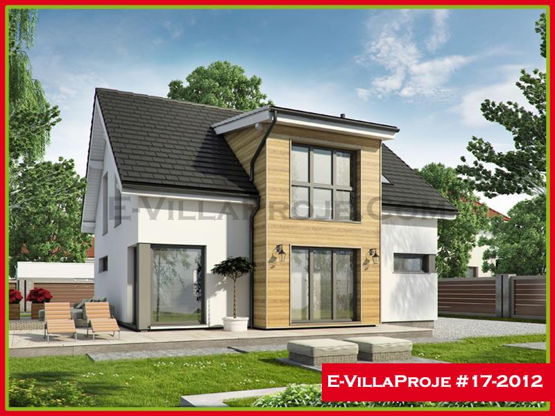 Ev Villa Proje #17 – 2012, 2 katlı, 4 yatak odalı, 178 m2